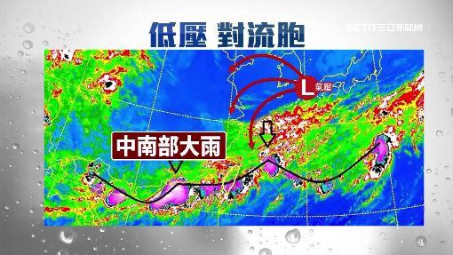 """鋒面過境""""中南部"""" 今入夜北部雨勢增強"""
