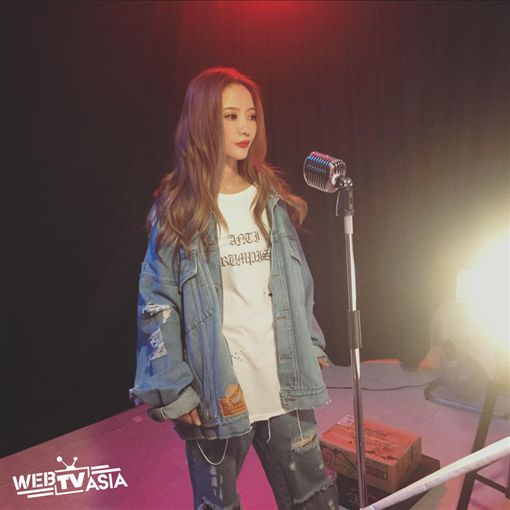 黃美珍翻唱MV拍攝現場