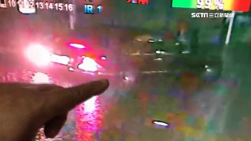 大雨+漲潮!鹿港老街淹 百年餅舖遭殃