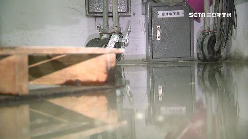 19億網球館大漏水! 送電室泡水超危險