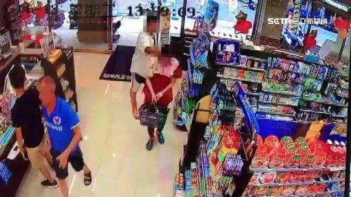 超商店員拒借打火機 壯男掐脖怒賞巴掌