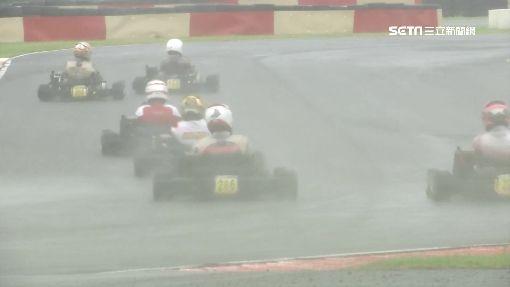 雨中賽車高難度 新增「雨神獎」鼓勵選手