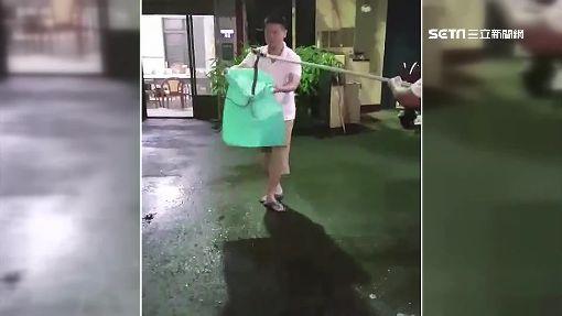 雨後毒蛇出沒!雨傘節入侵宮廟 目擊婦嚇壞