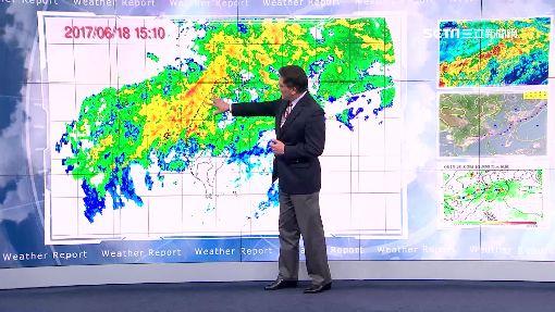 全台雨勢稍緩 下周二西部再防強降雨