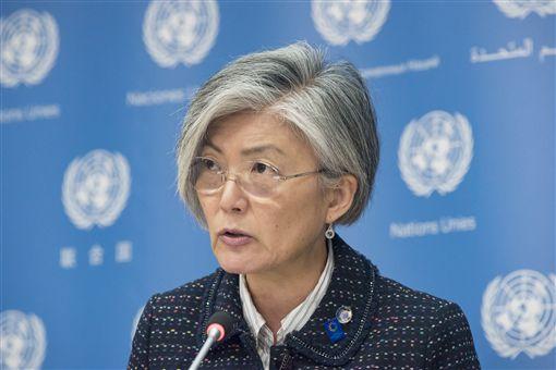 南韓首任女外長康京和_美聯社/達志影像
