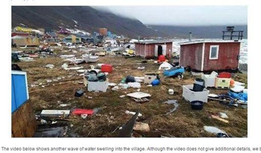 格陵蘭罕見地震 海嘯摧毀11棟民宅圖/翻攝自 earthquake-report.com