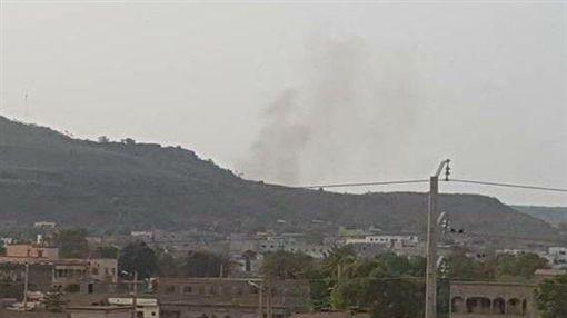 馬利首都巴馬科,度假村遭攻擊(圖/翻攝自推特)