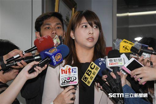 台北市副發言人陳思宇 圖/記者林敬旻攝