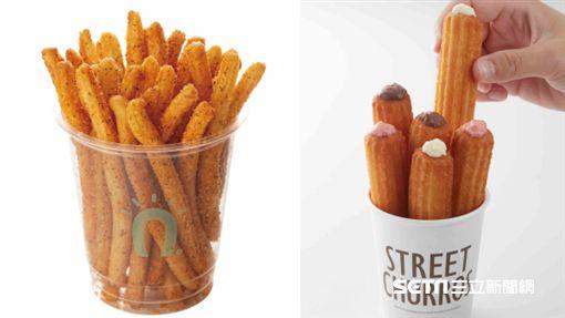 韓國吉拿圈,Street Churros,新品,吉拿泡芙,吉拿薯條。(圖/Street Churros提供) ID-943799