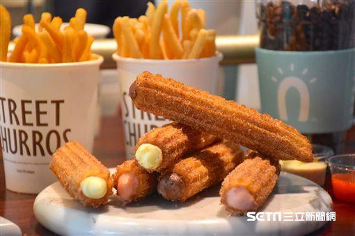 韓國吉拿圈,Street Churros,新品,吉拿泡芙,吉拿薯條。(圖/Street Churros提供)