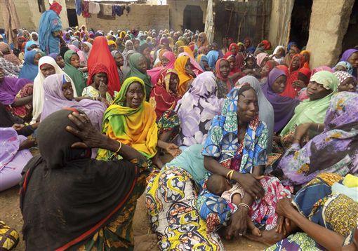 Nigeria,奈及利亞,炸彈,攻擊,叛軍,難民圖/美聯社/達志影像