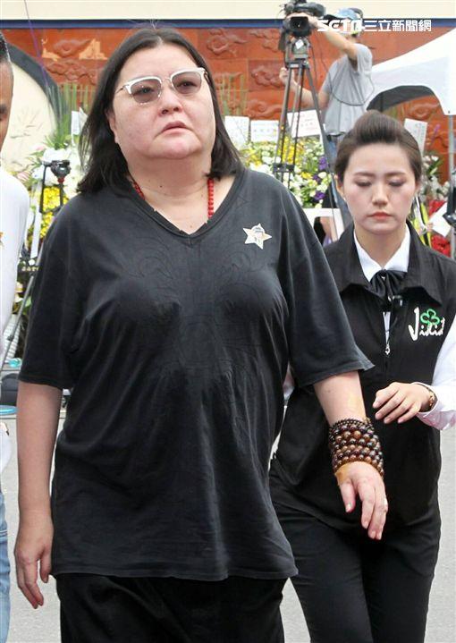 豬哥亮告別式,邱瓈寬(圖/記者邱榮吉攝影)
