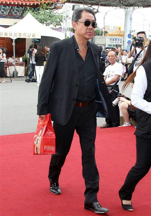 豬哥亮告別式,朱延平(圖/記者邱榮吉攝影)