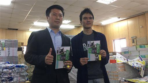 民進黨發言人張志豪、媒體創意中心主任楊緬因 圖/民進黨提供