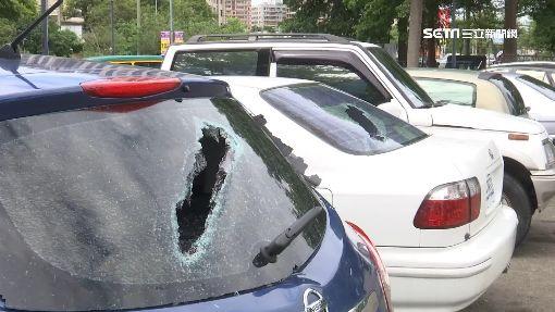 """只破玻璃沒偷財物 大里""""砸車怪客""""毀14車"""