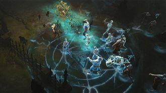 死靈法師 暗黑破壞神3 美商暴雪提供 Blizzard Entertainment diablo