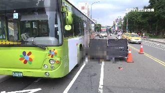 公車、貨車夾擊 單車騎士爆頭喪命