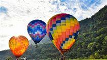 石門水庫,熱氣球,石門水庫熱氣球 圖/台灣觀光粉絲團臉書