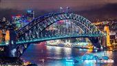澳洲雪梨,雪梨大橋,雪梨歌劇院。(圖/澳旅局提供)'
