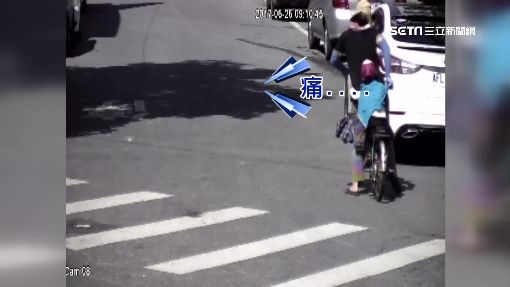 好痛!童腳卡單車輪圈 婦呼救8暖警救援