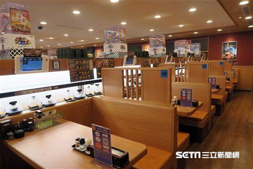 藏壽司台北館前店,全球旗艦店。(圖/記者簡佑庭攝) ID-954205