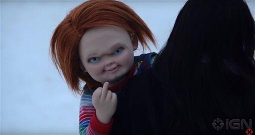 恐怖娃娃,安娜貝爾,鬼娃恰吉7,靈異入侵,鬼娃新娘,預告片,驚悚,恐怖,電影,鬼娃恰吉 圖/翻攝自YouTube https://goo.gl/wBxzeW