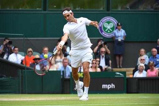溫布頓、Roger Federer、費德勒/達志影像/美聯社 ID-960410