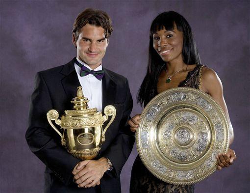 溫布頓、Roger Federer、費德勒/達志影像/美聯社 ID-960411