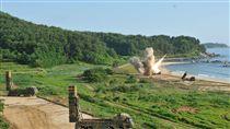 反制北韓  美軍南韓飛彈部隊聯合軍演_路透社/達志影像