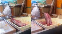 生魚片,跳動,攤販,新鮮,市場,喪屍 https://www.facebook.com/dailyheyhey/videos/1778111312481063/