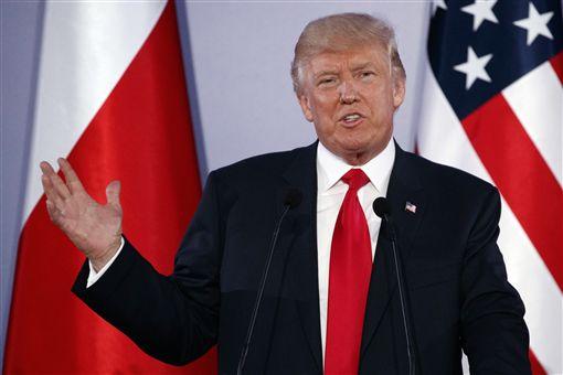 川普,Donald Trump(圖/美聯社/達志影像)