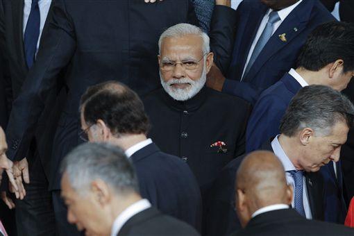 印度,莫迪,Narendra Modi(圖/美聯社/達志影像) ID-965719