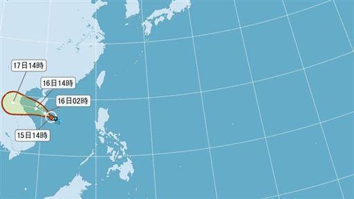 第4號颱風形成!命名塔拉斯 氣象局預測不影響台灣圖/翻攝自中央氣象局