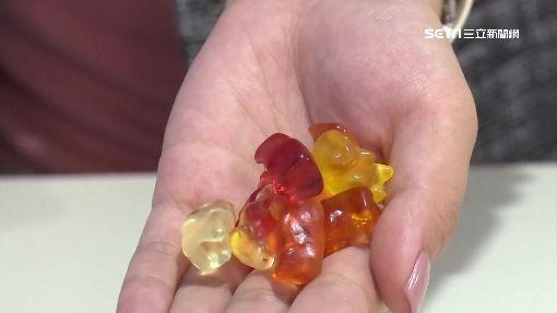 超逼真耳環 傻眼!竟是「小熊軟糖」做的