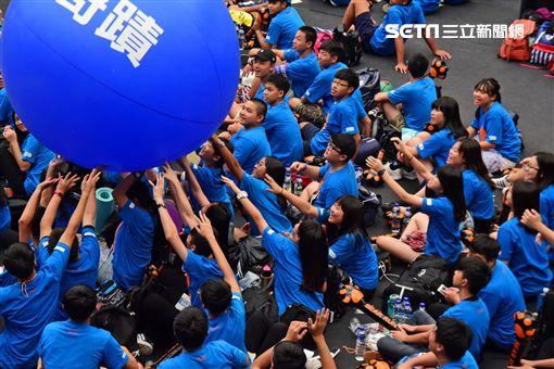 看見世界兒童飢餓需求 兩萬人挑戰30小時飢餓任務(圖/台灣世展會)