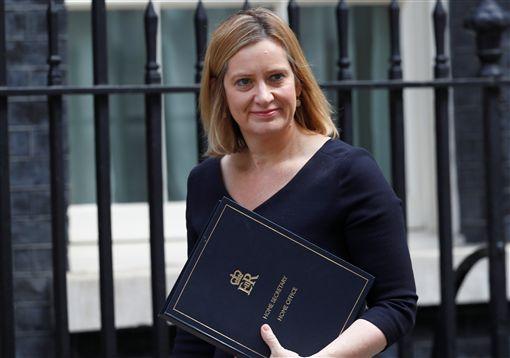 ▲內政大臣魯德(Amber Rudd)。(圖/路透社/達志影像)