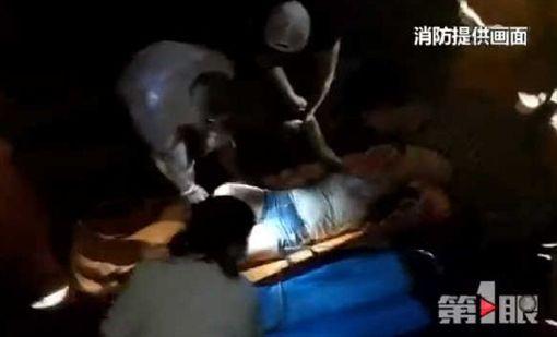 大陸重慶市南川女子跳河輕生 骨折送醫/搜狐
