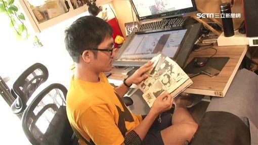 台漫畫進軍日動畫!台漫畫家彭傑做到了