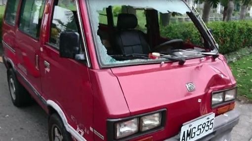 台南,車禍(圖/翻攝畫面)