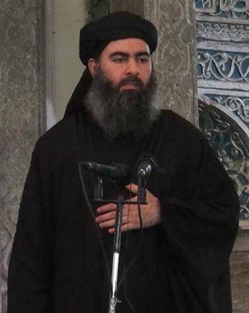 伊斯蘭國,IS,巴格達迪,Abu Bakr al-Baghdadi(圖/翻攝自維基百科)