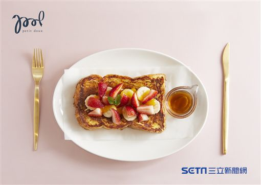 94 要戰顏值!自然醒早午餐美味限時登場(圖/Petit Doux.微兜Café Bistro)