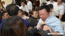 立法院財政委員會18日繼續聯席審查前瞻建設預算案,李俊俋。 圖/記者林敬旻攝