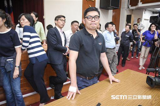 立法院財政委員會18日繼續聯席審查前瞻建設預算案。 圖/記者林敬旻攝