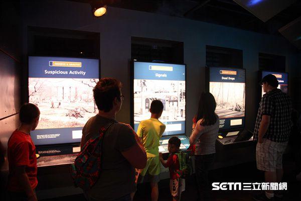 華盛頓間諜博物館,International Spy Museum。(圖/記者簡佑庭攝)