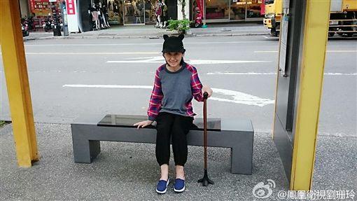 劉珊玲(圖/翻攝自劉珊玲微博)