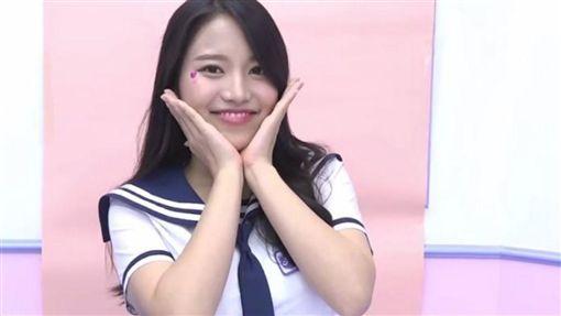 蔡瑞雪,北一女神,偶像學校,南韓選秀(圖/翻攝自Mnet官方 YouTube)