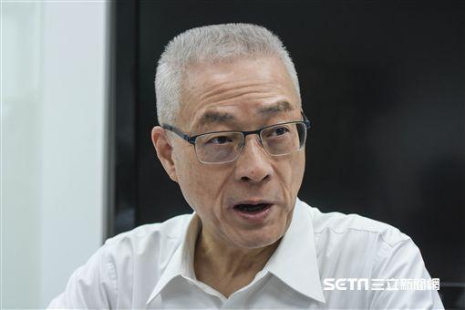 國民黨黨主席吳敦義會見立委 圖/記者林敬旻攝
