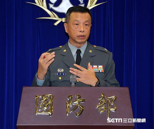 國防部發言人陳中吉 記者邱榮吉攝 ID-993316
