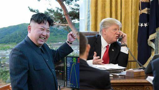 金正恩、川普、北韓領導人、美國總統/勞動新聞網、臉書