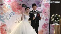 張瓊方,蔡尚益,婚禮(圖/記者黃馨慧攝影)